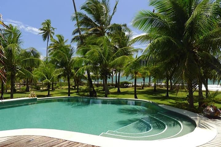 Bah300 - Spectacular sea front villa in Barra Grande