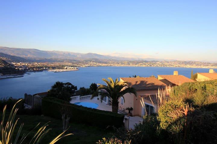 Villa avec piscine privée , vue panoramique mer - Théoule-sur-Mer - Talo