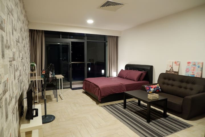 COSY PARIS SUITE@SELF CHECK IN/FREE PARKING&WIFI