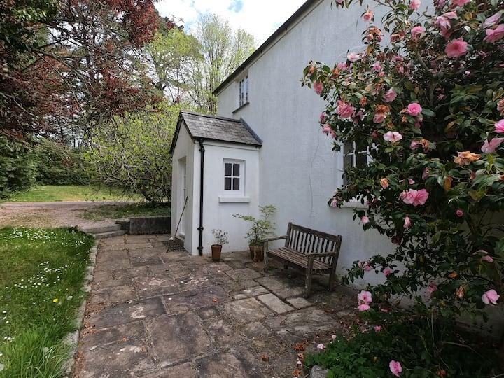 Dartmoor valley cottage.