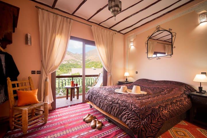 atlas toubkal double room with balcony