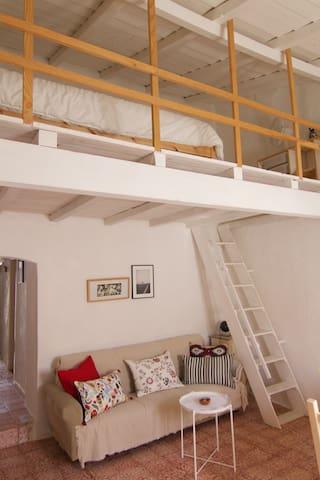 lounge and mezzanine