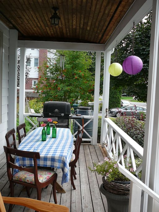 porch and BBQ available
