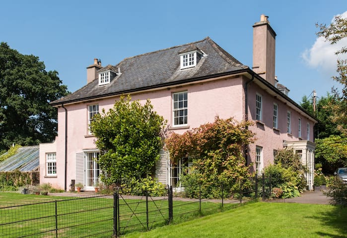 Tretower House,  Crickhowell: Twin Rm, B'fast inc