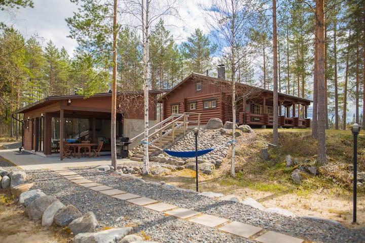 Lakeshore Cottage Kiviniemi