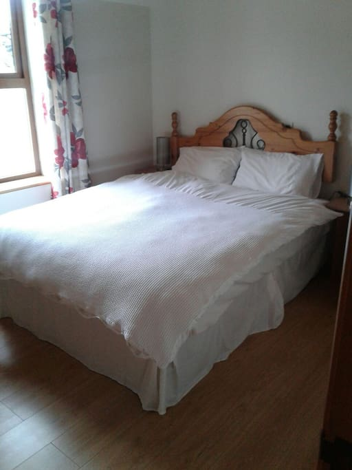 Bedroom 2 , comfortable double bed with ensuite.