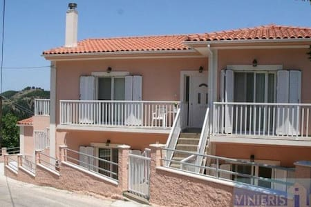 Rental home in village of Kaminarata, Kefalonia