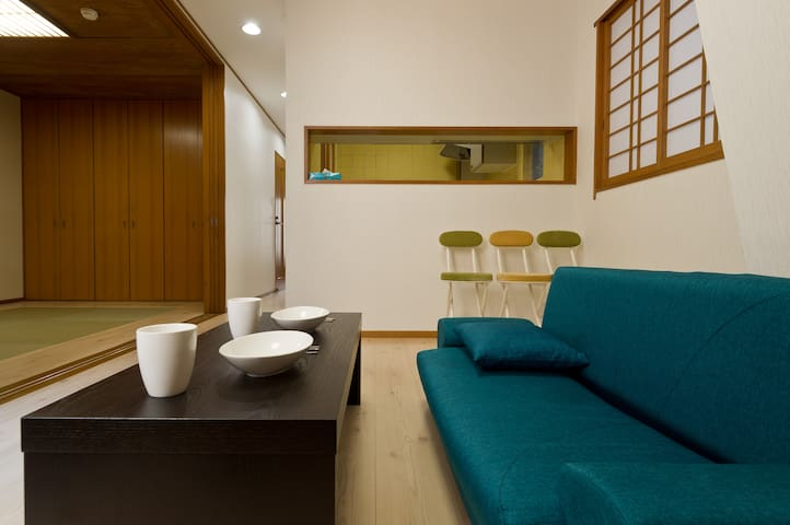 ★NEW★Spacious Room in Ginza/1BR/5ppl/WiFi (F1)
