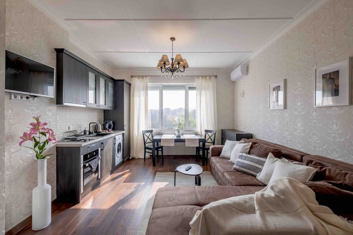 Panoramic Sofia Views| Two Bedrooms| Top Center