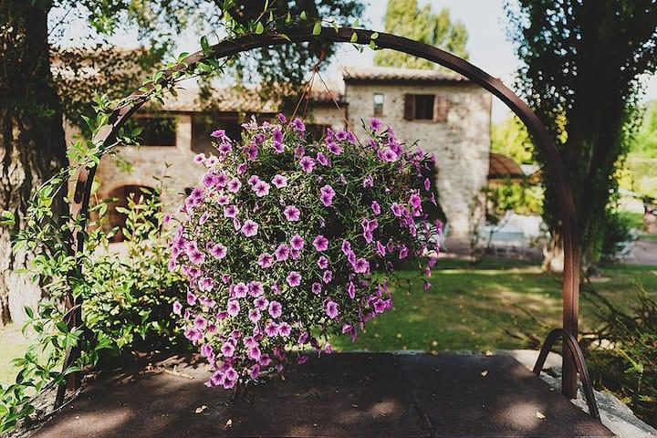 Resort Poggiomanente, comfort in Umbria