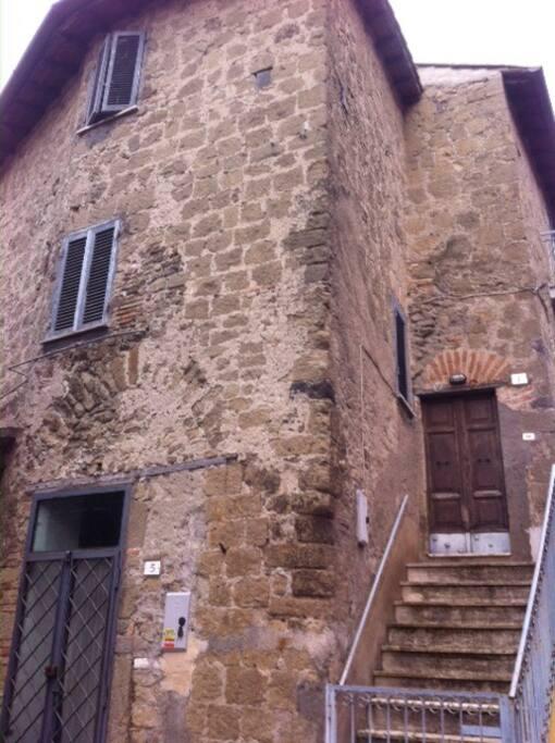A casa di andr nel centro storico case in affitto a for Compro casa roma centro