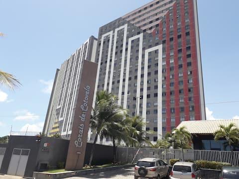 Apartamento 3 quartos na Praia de Cotovelo-RN