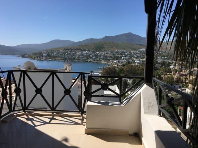 3+1 villa with fantastic sea view in Türkbükü - Göltürkbükü Belediyesi - Villa