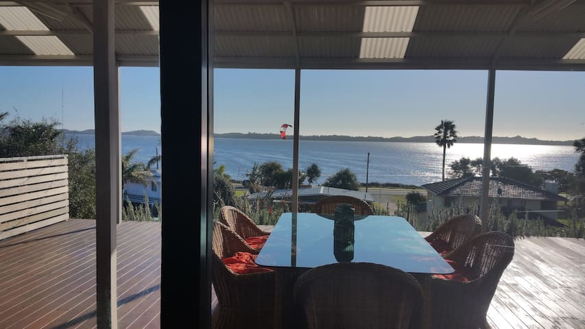 Deck View  Fabulous Estuary Views - Australind - House