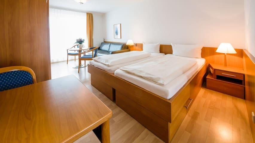 Residenz Südwesthörn, (Norderney), Ferienwohnung Typ D, 23-28qm, 1 Wohn-/Schlafraum, max. 2 Personen