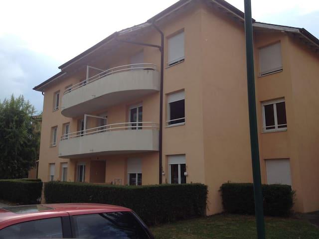 T1 avec petit jardinet 10kms de Genève centre - Vétraz-Monthoux - Byt