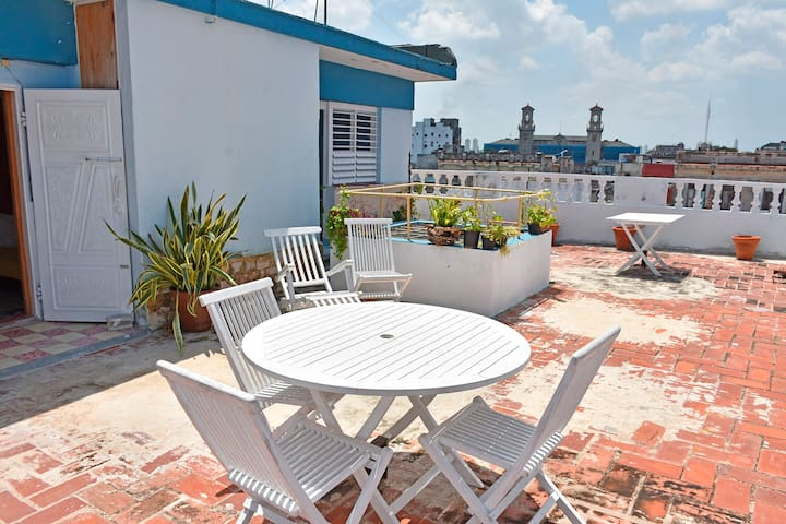 Roof Terrace Old Havana - Havana - Byt