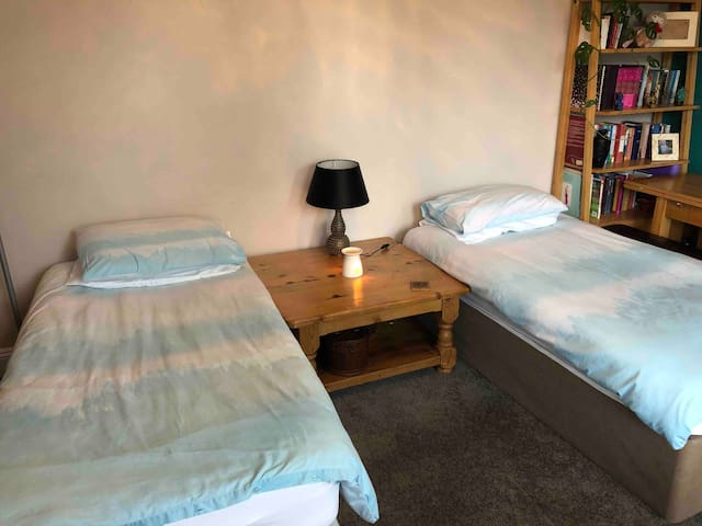 Bournemouth town centre. Twin/single room