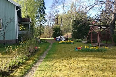 Child-friendly and big garden - Jämsä - House