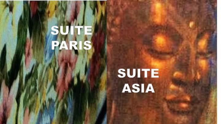 Paris Suite und Suite Asien