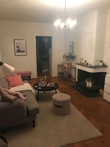 2 rums lägenhet med bra kommunikationer
