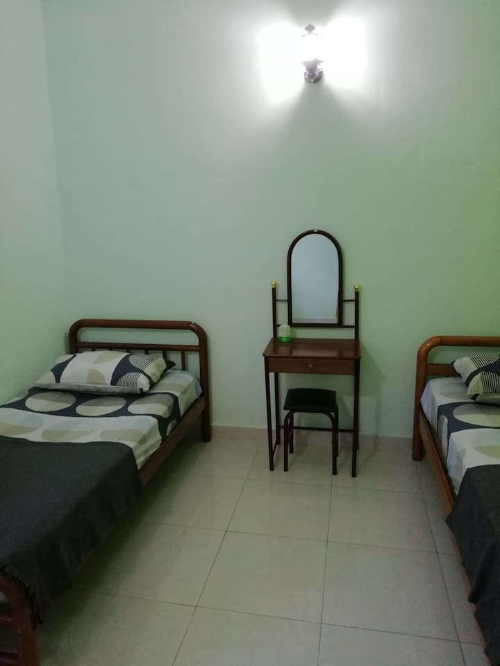 Two Double Bed @ Pasir Mas