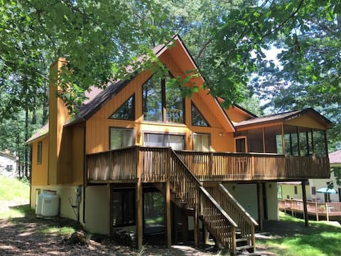 The Charming Chalet at Lake Wallenpaupack