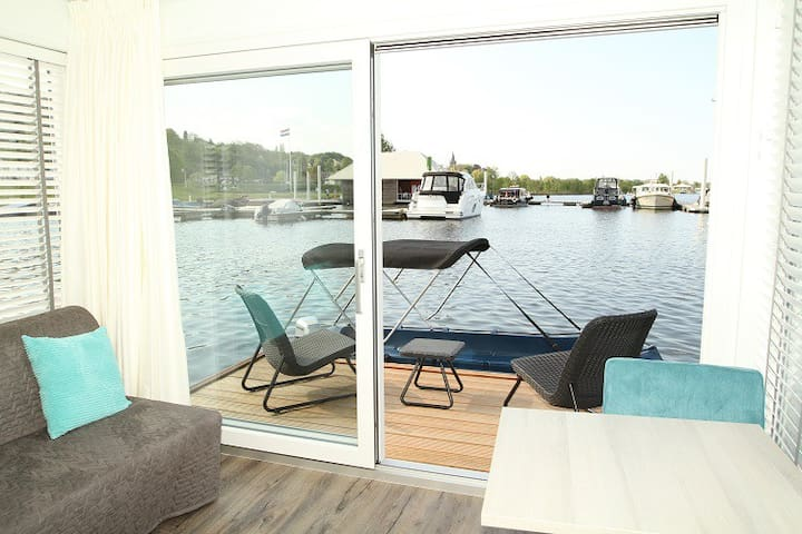Your own private island, starlodging on the water. - Maastricht - Båt