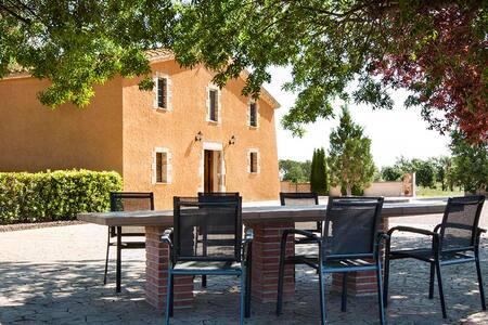 Casa con piscina y barbacoa 9-12pax - Caldes de Malavella - Rumah