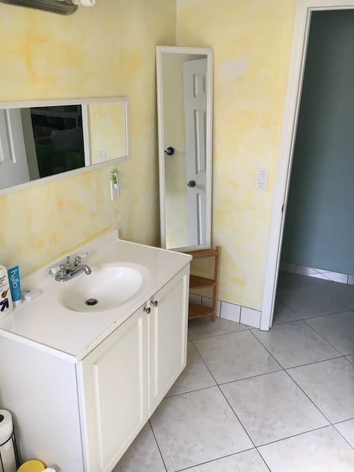 Bathroom shared with 1 other room