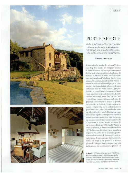 architectural digest wrote about us