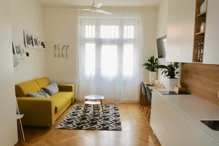 Bright Modern Apartment - Enjoy Prague at its Best