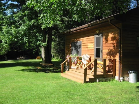 Jims Cabin on AuSable River with AC