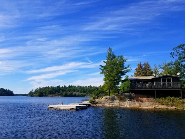 Family retreat on private Georgian Bay island