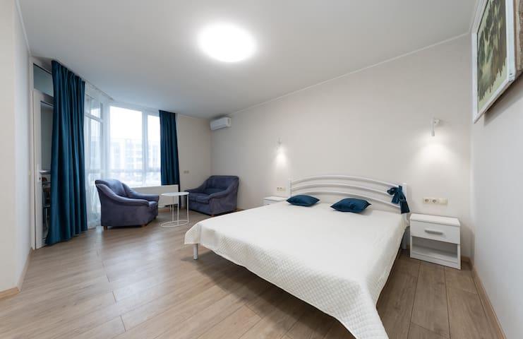2 комнатная квартира на Центральной улице
