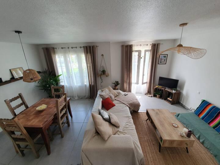 Grand Appartement cosy et chaleureux