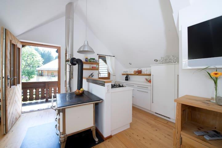 Holiday Alp Kreuth6 - House Enzian (1st floor) - Sankt Veit an der Glan - Rumah