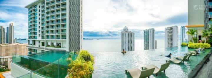 The Riviera Wongamat Sea View Condo RW1Q