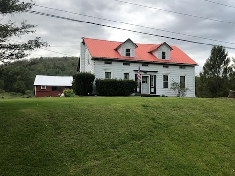 Farm house in the beautiful Catskill Mountains.