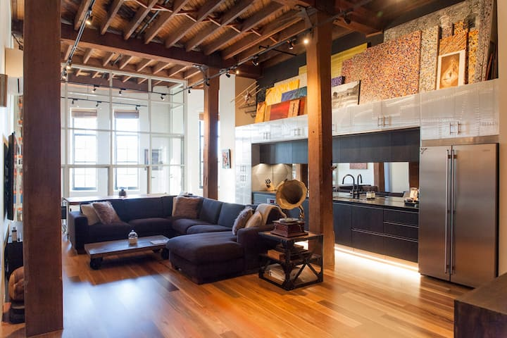 New York Style Loft Cosy & Delux in Ideal Location