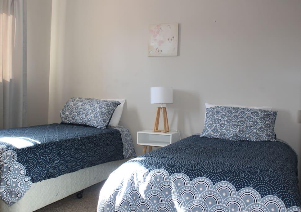 3rd Bedroom - 2 x Single