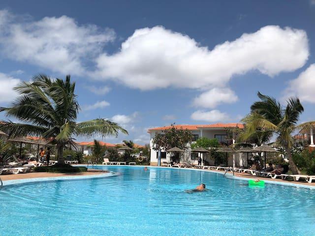 Luxusvilla ,Sal Kap Verde-20m vom Meer