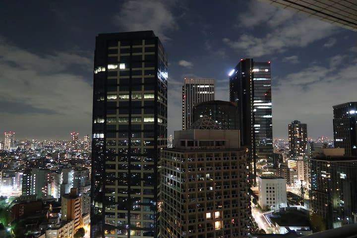 西新宿にある新築の家の3階部 最新設備 駅3分、1BED+屋上 - Shinjuku - House