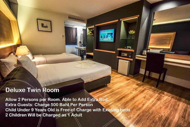 The Three Hatyai Twin Room