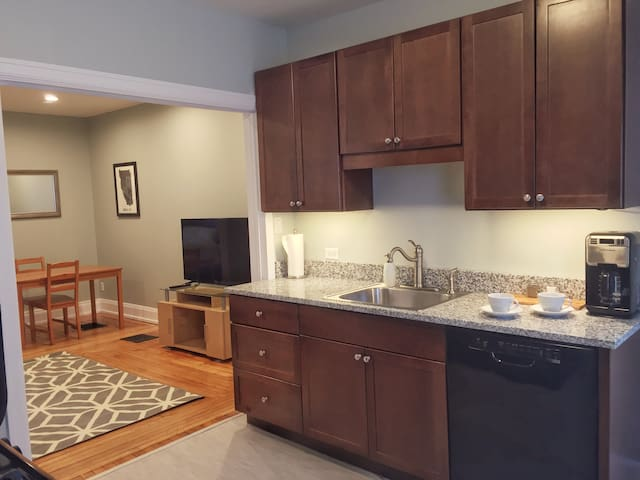 Modern Elmwood Village One-Bedroom Apartment