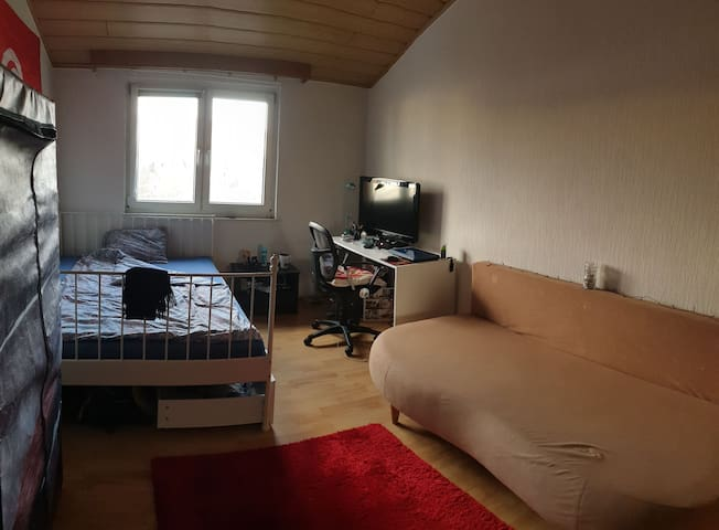 Cozy private room, 10 min from main station