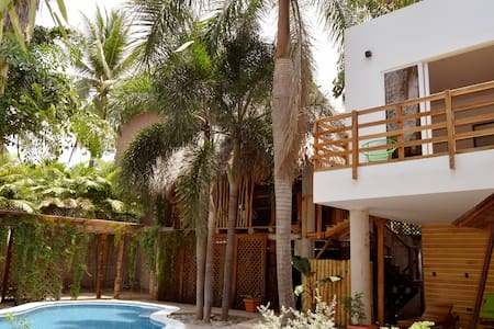 Private Oasis in Fun Beach Town