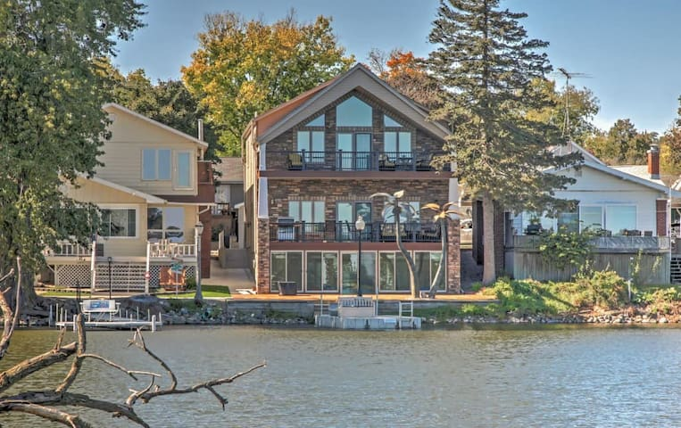 3BR Lake View House w/Waterfront Location! - Lake View - Дом