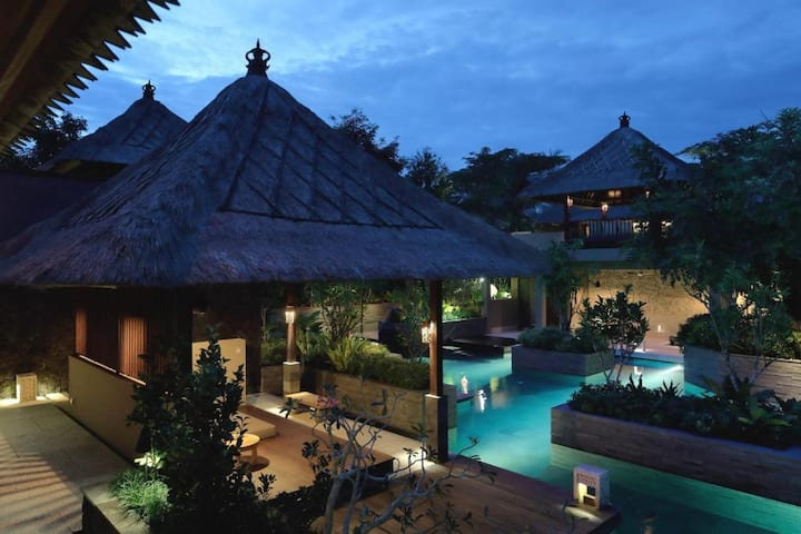 1BR Japanese Style surounded by InfinityPool @Ubud