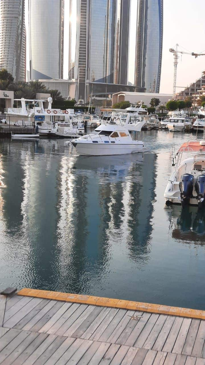 Luxury Private Yacht in Abu Dhabi for Two